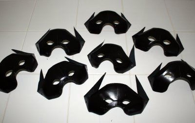 milk jug bat masks