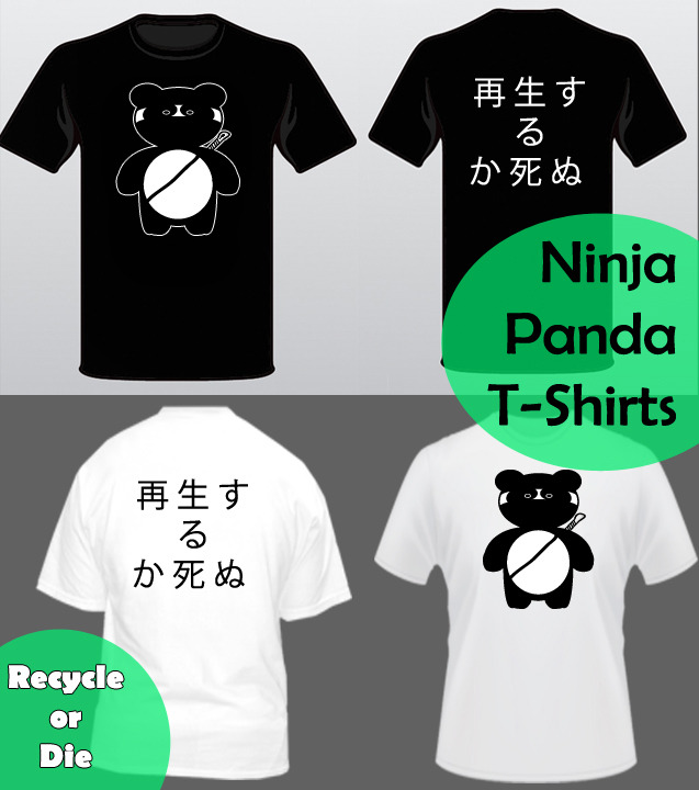 Recycle Or Die T-Shirts