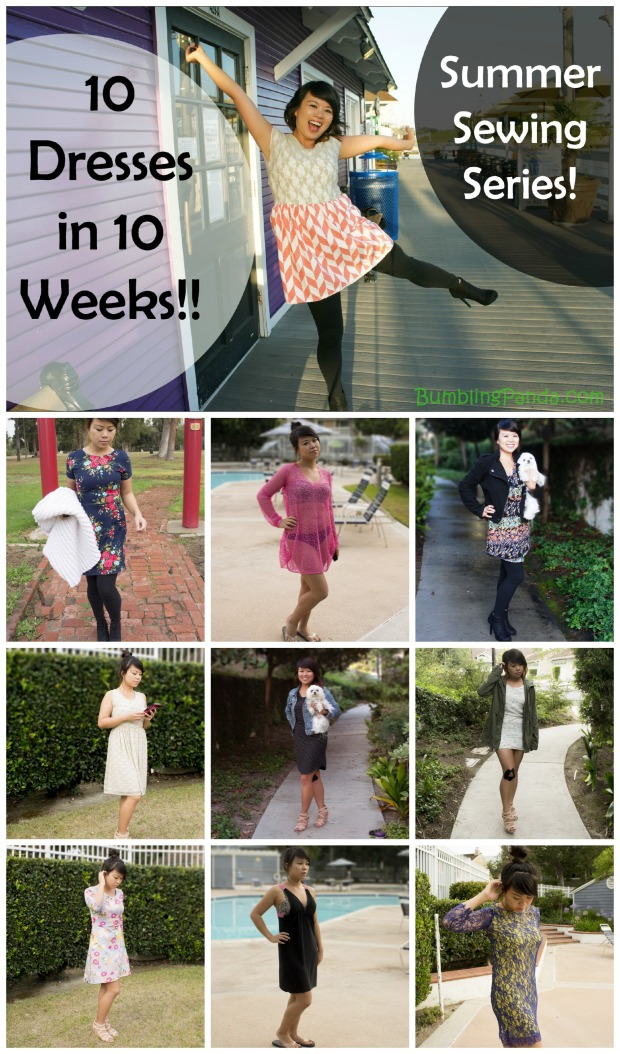 10 Dresses Collage