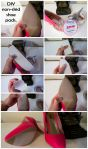 DIY Non Slip Shoe Pads with Traction Tape by Bumbling Panda
